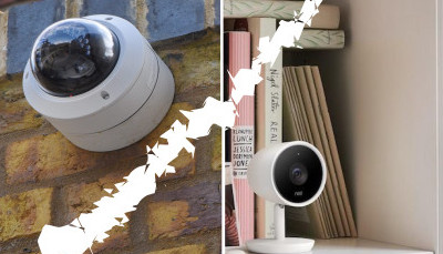 Outdoor and Indoor cameras